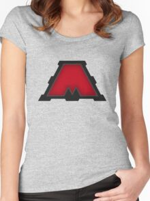 MegaCorp Red  - Ratchet & Clank Women's Fitted Scoop T-Shirt