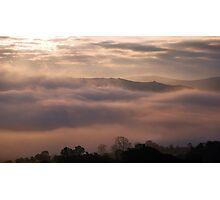 Valley Fog Photographic Print