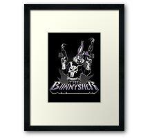 THE BUNNYSHER Framed Print