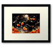 strawberry atmosphere Framed Print