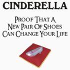 Cinderella's Glass Slipper by CafePretzel