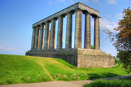Edinburgh's Folly Reworked by Tom Gomez