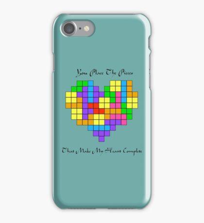 Tetris love iPhone Case/Skin