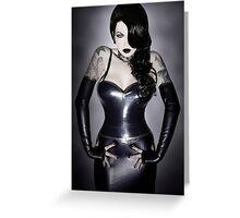 Violet Eyes - Dark Jessica 2 Greeting Card