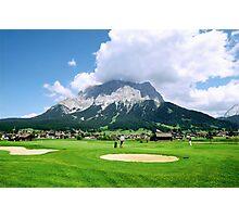 Zugspitze Arena Photographic Print
