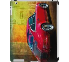 Red Porsche 911 Rear iPad Case/Skin