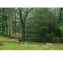 Smoky Mountain Rain Photographic Print
