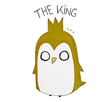 The Pinguin King Photographic Print