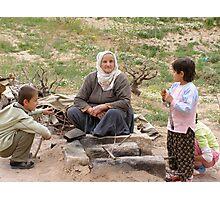 Grandmother in Kapadokia Photographic Print