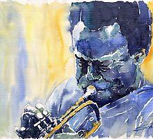 Jazz Miles Davis 8 Blue by Yuriy Shevchuk