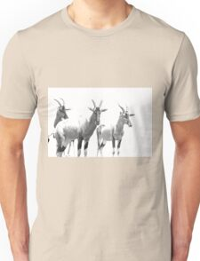 Three Topi Antelope Unisex T-Shirt