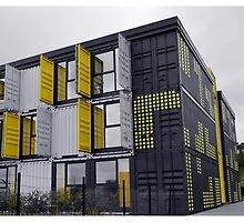 Dundee Container Office Riverside by markw123