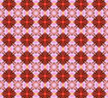 Ribbon bows pattern by Gaspar Avila