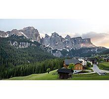 Wonderful Dolomites Photographic Print