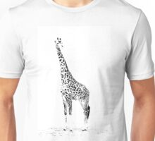 Giraffe Masai Mara Kenya Unisex T-Shirt