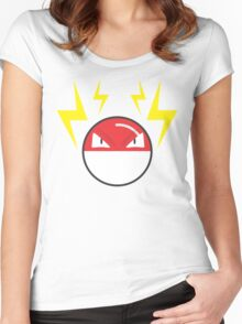 Voltorb Women's Fitted Scoop T-Shirt