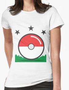 Catching Pokémon Womens Fitted T-Shirt