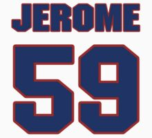 NBBL07943 baseball player Jerome Williams jersey 59 T-Shirt