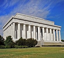 Lincoln Memorial by David Lampkins