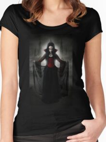 Lady Amaranth - Evil Queen 1 Women's Fitted Scoop T-Shirt