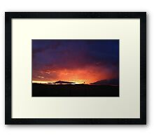 Radiant Sunset No.1 Framed Print