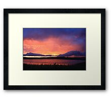 Radiant Sunset No.2 Framed Print