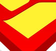 """Seen"" Shield v:2.0 Sticker"