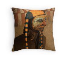 Fool King Throw Pillow