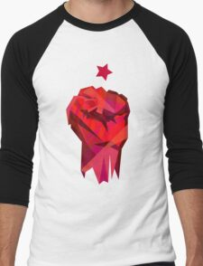 Rebel Fist Men's Baseball ¾ T-Shirt