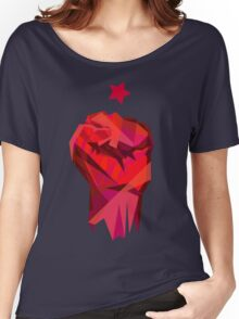 Rebel Fist Women's Relaxed Fit T-Shirt