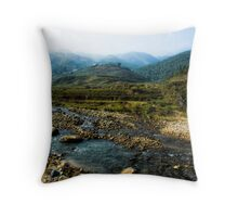 Sapa,Vietnam Throw Pillow