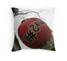 Nara lantern Throw Pillow