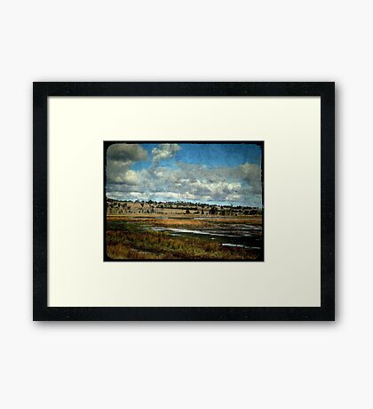 Dangars Lagoon, Northern Tablelands, New South Wales Framed Print