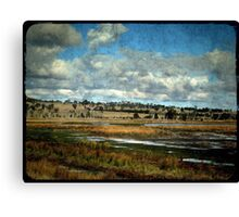 Dangars Lagoon, Northern Tablelands, New South Wales Canvas Print