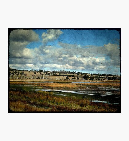 Dangars Lagoon, Northern Tablelands, New South Wales Photographic Print