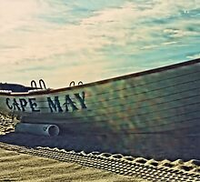 Lifeboat - Cape May by DJ Florek