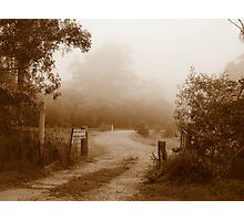 Gates of Grandeur - Ashby, New South Wales Photographic Print