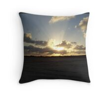The June Rays Throw Pillow