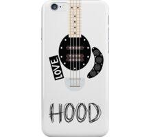 CAL BASS (W/ HOOD) iPhone Case/Skin