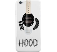 CAL BASS (W/ HOOD) iPhone Case/Skin
