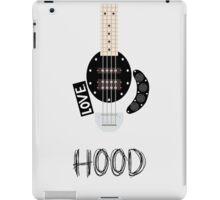 CAL BASS (W/ HOOD) iPad Case/Skin