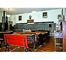 One Room Education Photographic Print