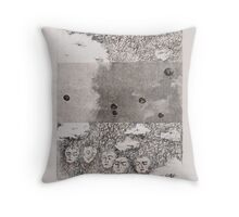 Parachuting 2 Throw Pillow