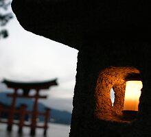 Miyajima night light by Kyra  Webb