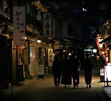 Miyajima nights by Kyra  Webb
