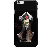 Kissing Birds With Rose (Valentines) iPhone Case/Skin
