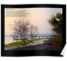 Soft the Dawn/Morning Light on the Ocean Poster