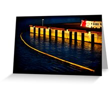 Dockland 1 Ortonized Greeting Card