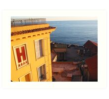 Four stars - Nice hotel, France Art Print