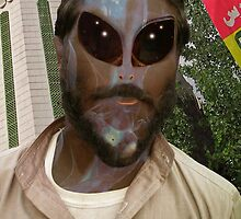 24TH Century Extraterrestrial Colonist in Pakistan by Kenny Irwin